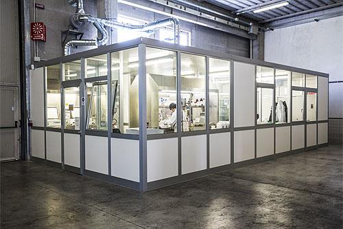 Produttore di pitture vernici intumescenti e ignifughe vernici per eternit amianto - produzione e laboratorio