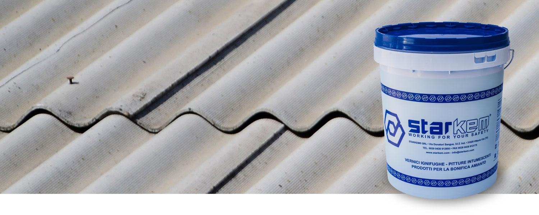 Vernici per eternit amianto pittura vernice per incapsulamento amianto - Starblock amianto testata